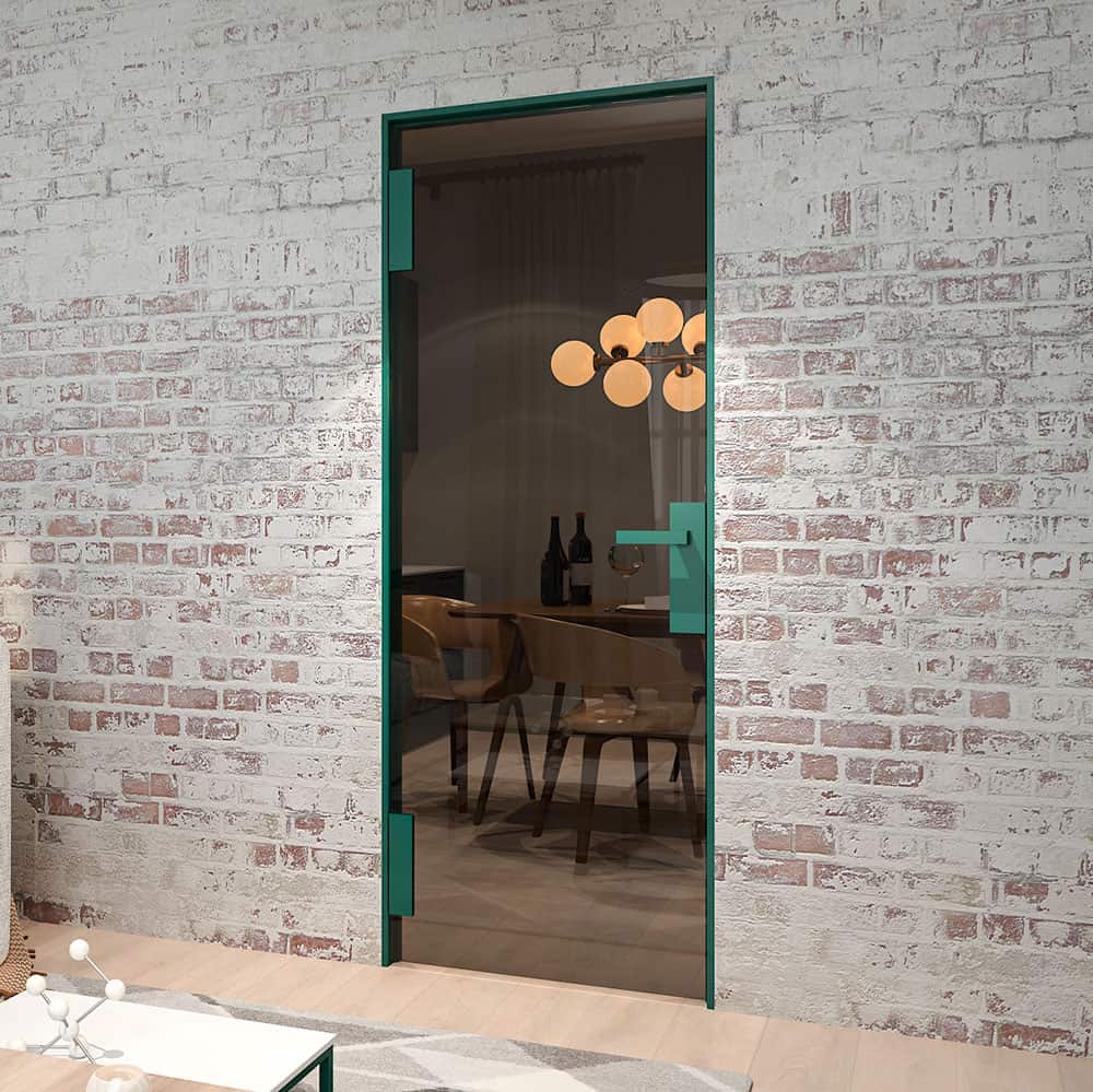 Стеклянная дверь Three Pieces Of Wood