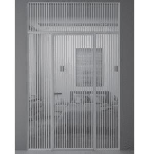 Алюминиевая межкомнатная перегородка Rezident Limerence Longitude.