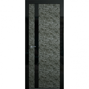 Межкомнатная дверь Colorize Rock Alter A. Декоративный каменный шпон.