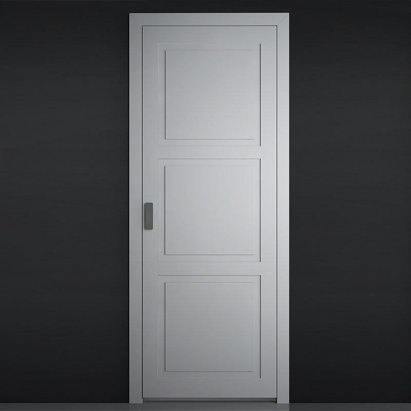 Филенчатая межкомнатная дверь Emboss Fornax.