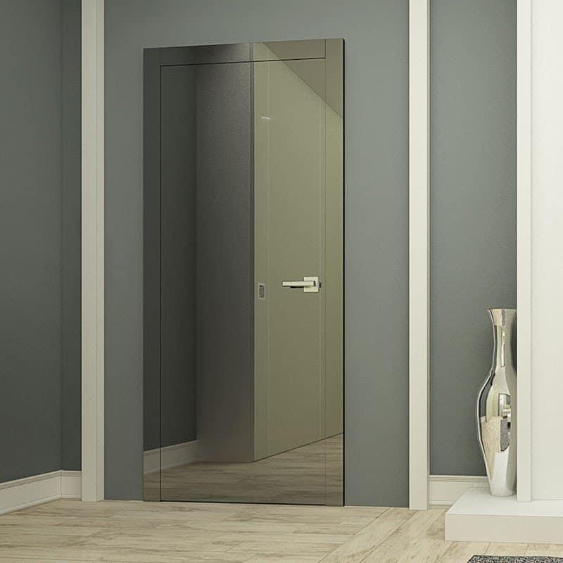 Межкомнатная дверь Blanco Graphite Mirror