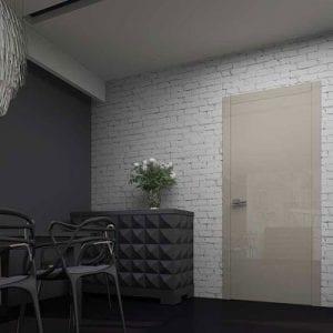 Межкомнатная дверь Glossify Decade Grey.