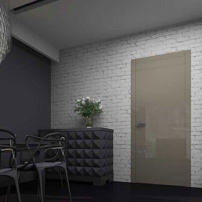 Межкомнатная дверь Glossify Smart Grey