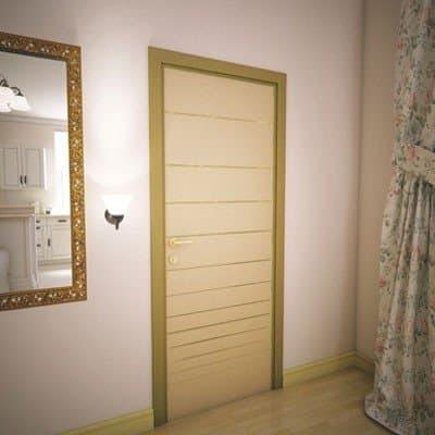 Межкомнатная дверь Grafika Bronze Mirror.