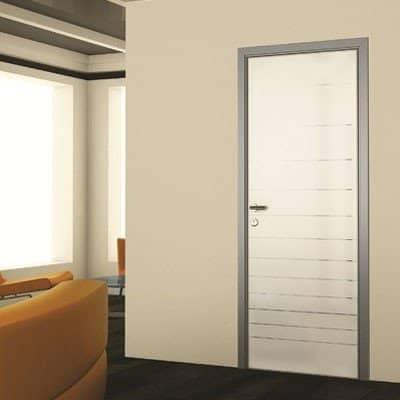 Межкомнатная дверь Grafika Silver Mirror.