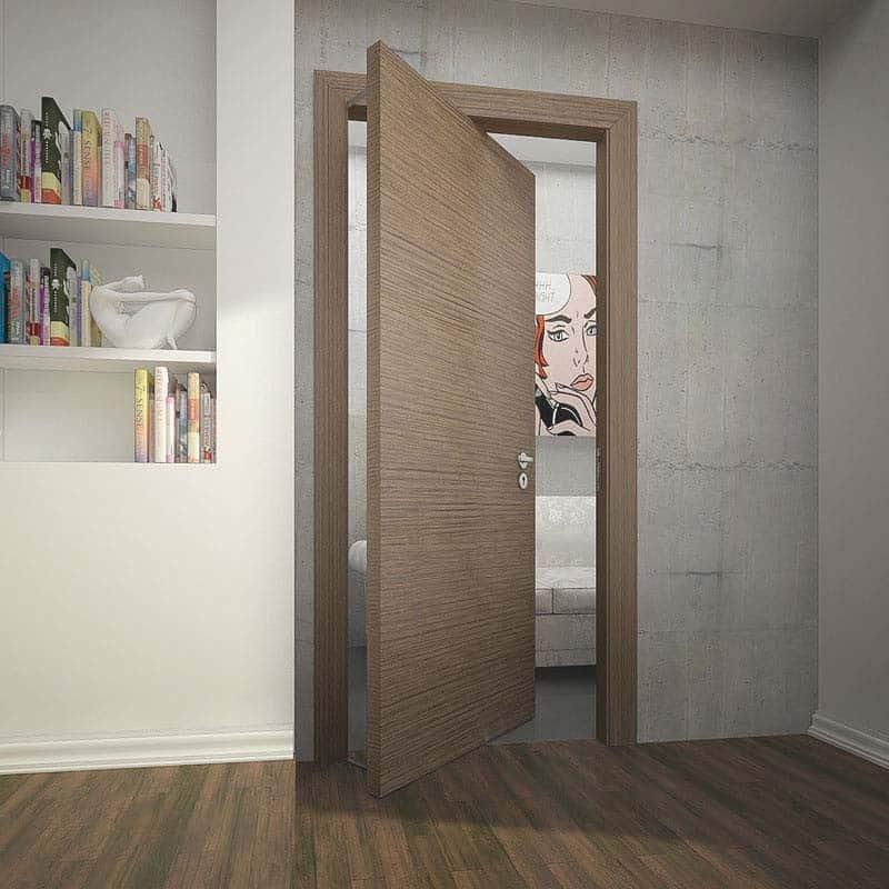 Скрытая межкомнатная дверь Private.