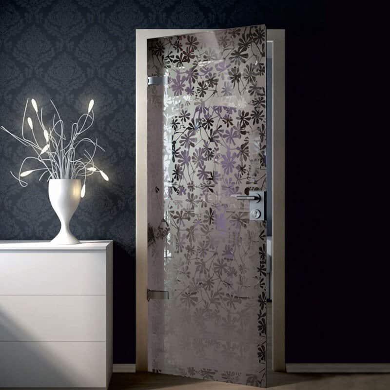 Межкомнатная стеклянная дверь G040
