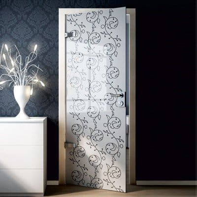 Межкомнатная стеклянная дверь G005
