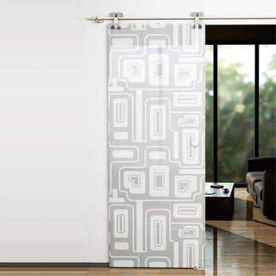 Межкомнатная стеклянная дверь G009