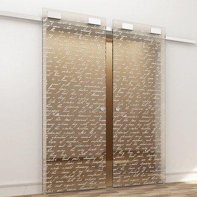 Межкомнатная стеклянная дверь G019
