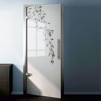 Стеклянная дверь G025