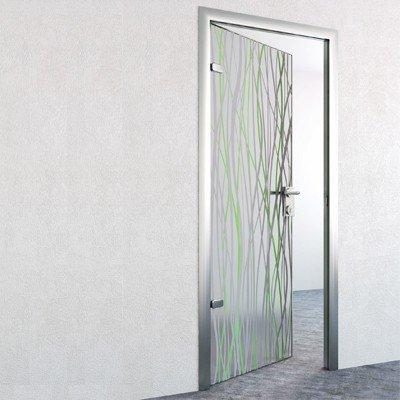 Стеклянная дверь G028
