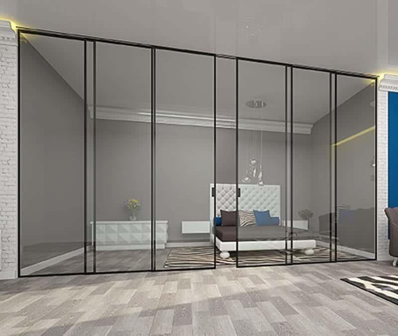 Особенность сдвижных систем для межкомнатных стеклянных дверей