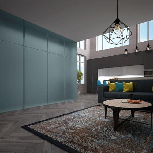 Стеновая панель Pariete Tres-Dimensiva-Velvet. Сатинированное стекло