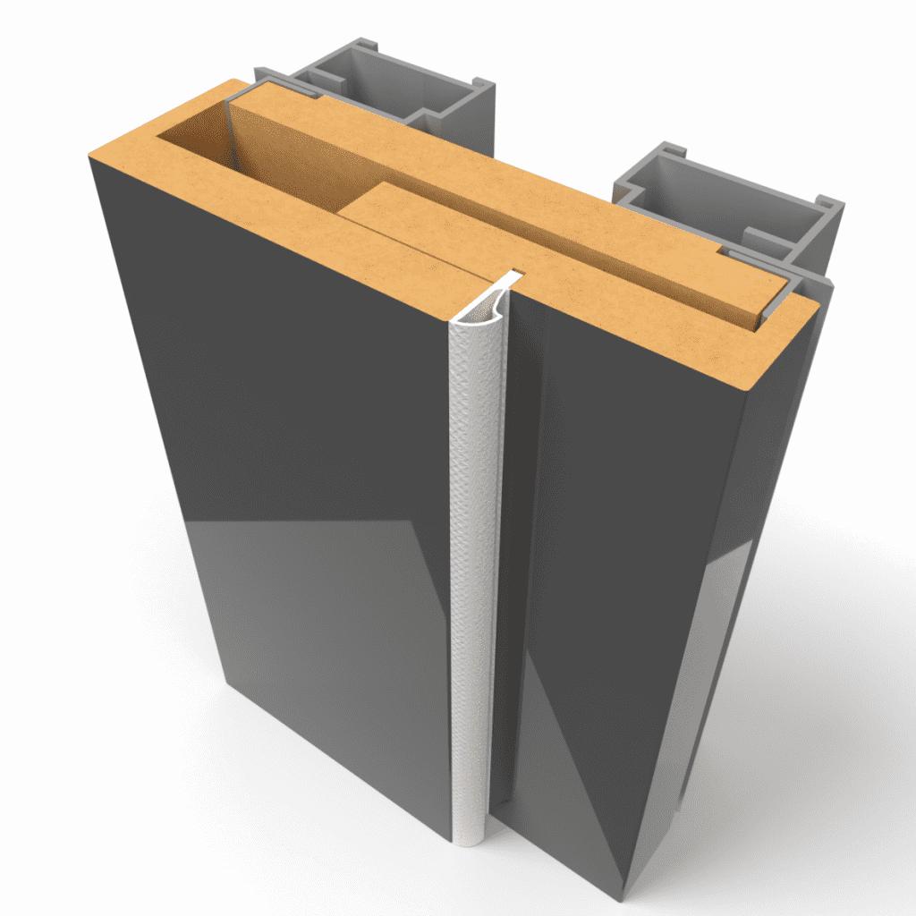 Комбинированная дверная коробка APMR-Visible