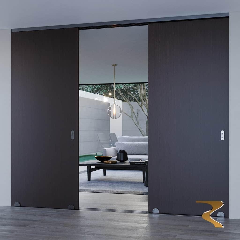 Сдвижная система для деревянных дверных полотен Slido Design 150-U