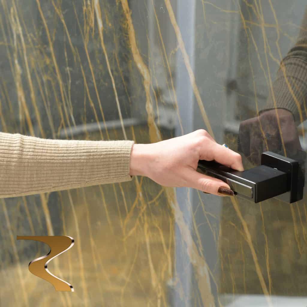 Модель скрытой двери Ceramic Hidden Rezident Design