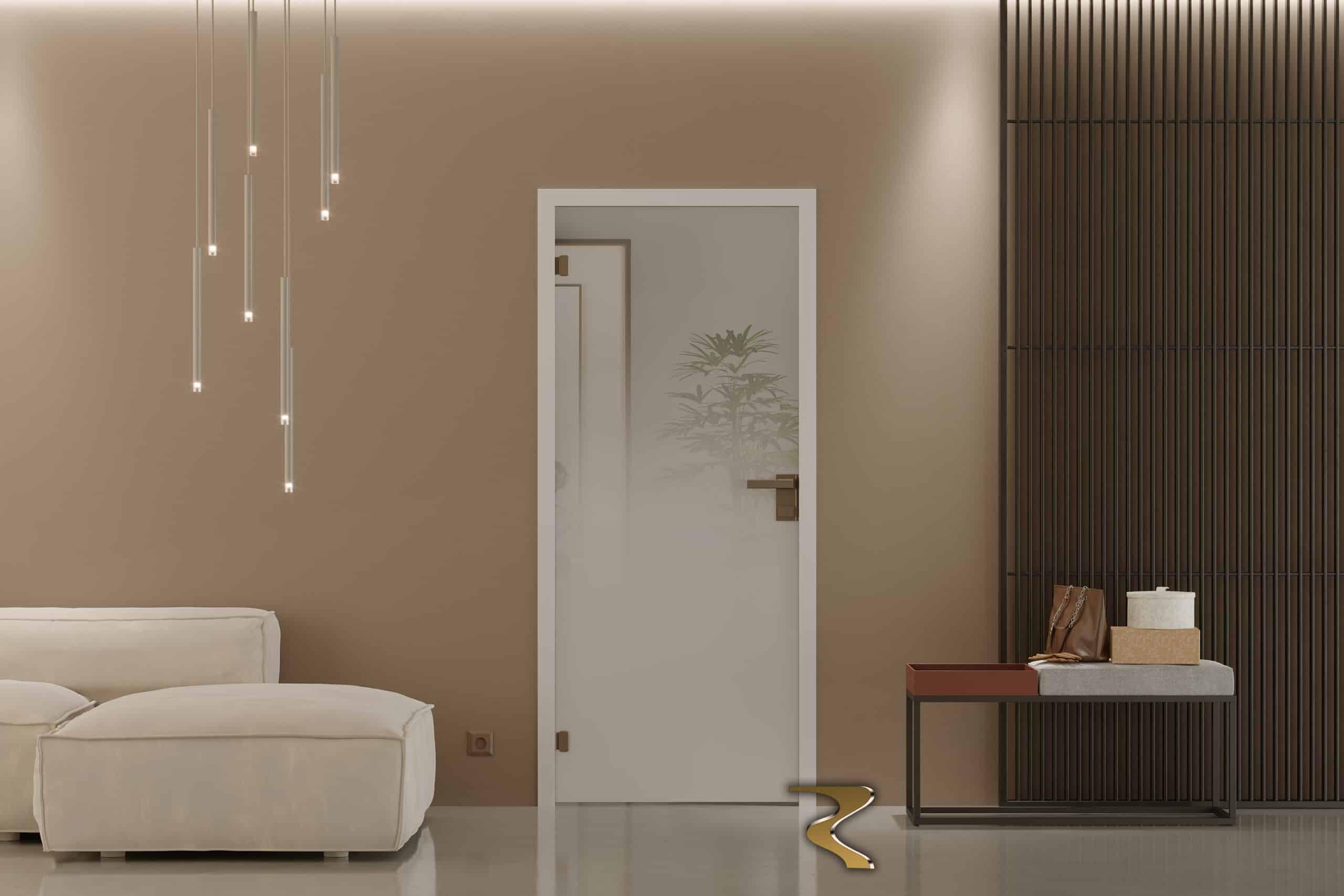 Glass Door Seme-Matte