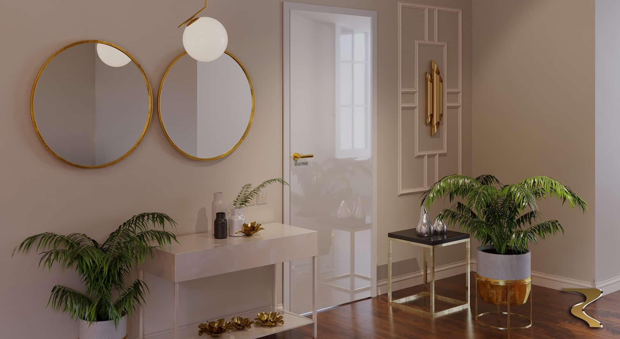 межкомнатные двери Blanco Rezident Design