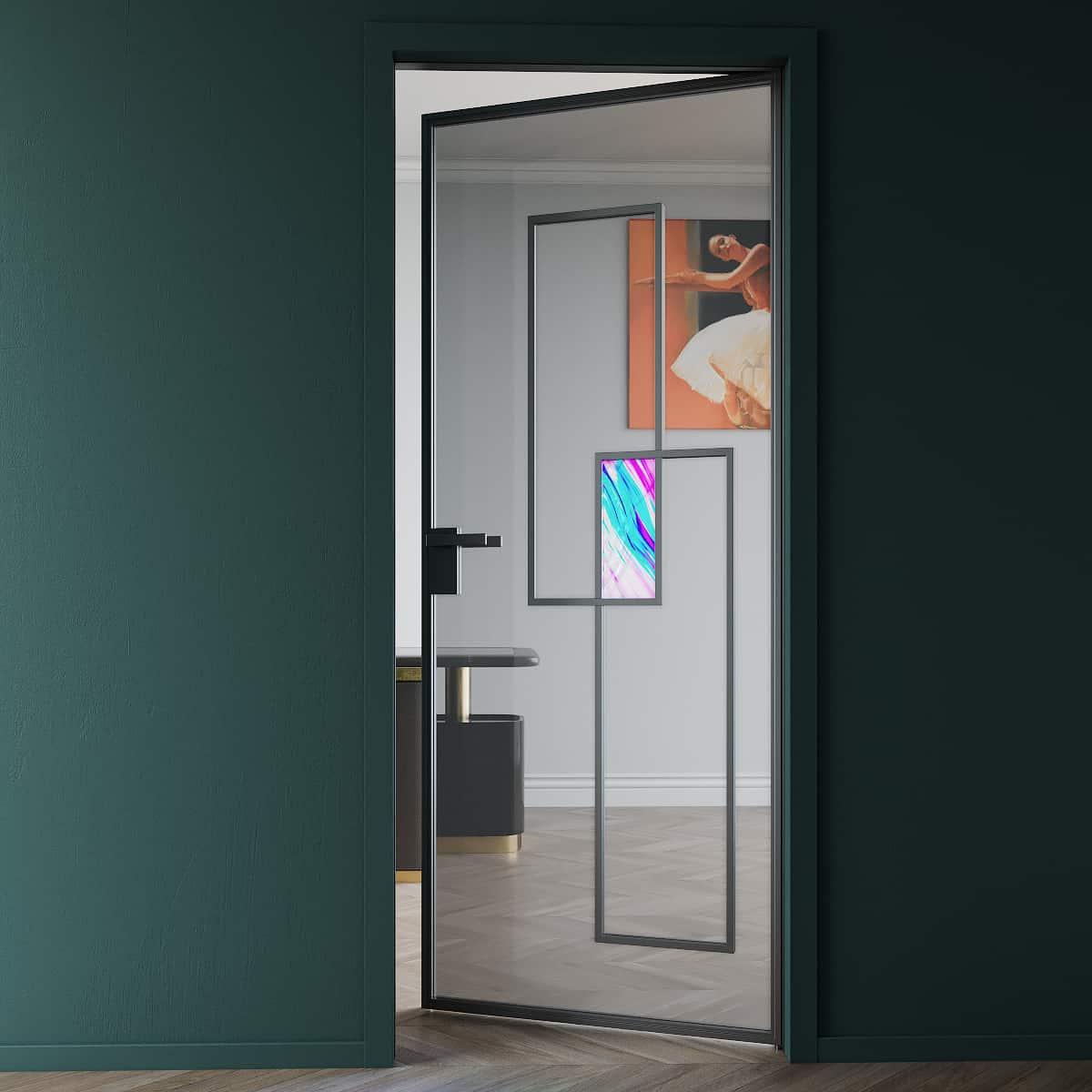 Межкомнатная дверь Crescendo Onyx.